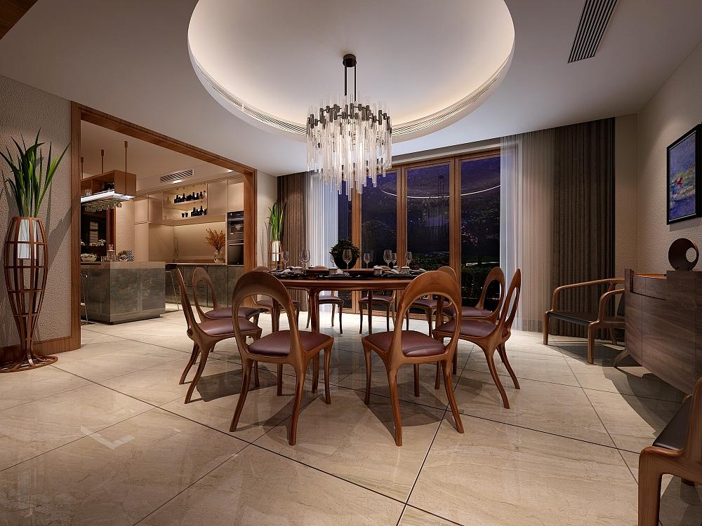 舍弃传统中式沉闷的色调,家具的选择也摒弃了复杂的线条堆砌,选择了相对硬朗的造型,也与房屋整体的风骨相辅相成